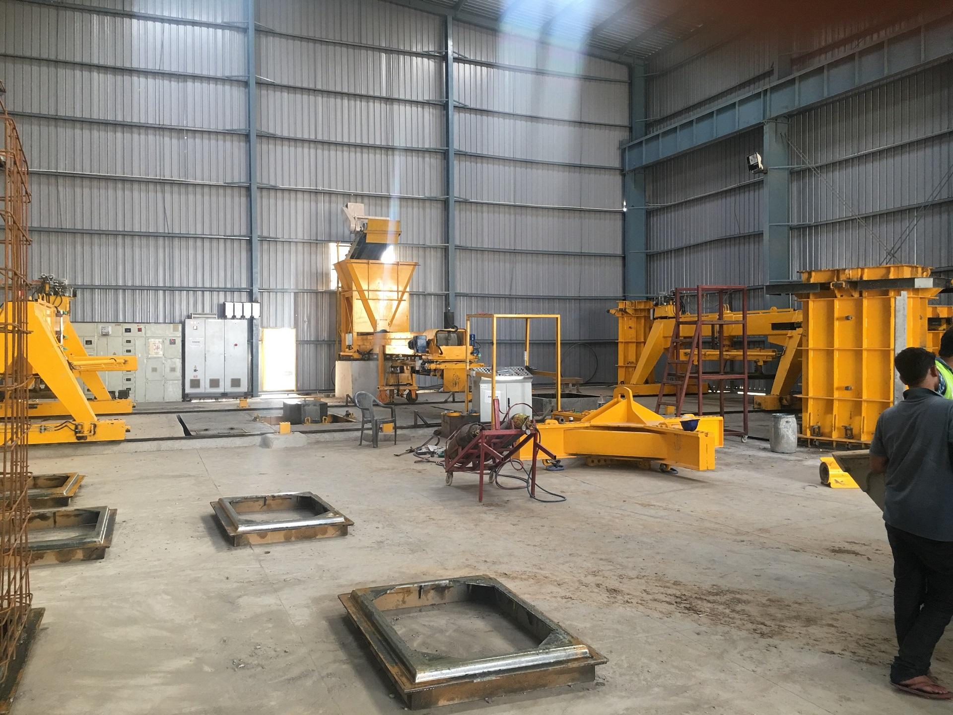 RCC Vertical Concrete Pipe Machine